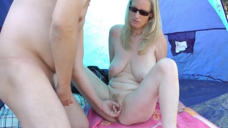 the beach whore for everyone on gran canaria uncut